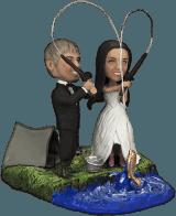Подарок паре «Свадебная рыбалка» - фото 1