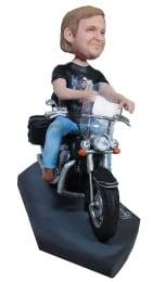 Подарок мотоциклисту «Крутому байкеру в День Рождения» 20см. - фото 1