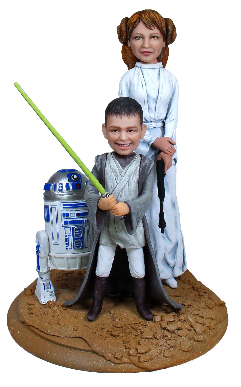 """Подарок сыну """"Звездные воины"""", 30 см. от 25 520 руб"""
