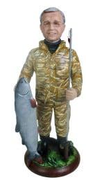 Подарок рыбаку «Большая удача» 30см. - фото 1