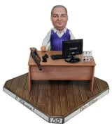 Мини-рабочий кабинет по фото «За столом» 20см. - фото 1