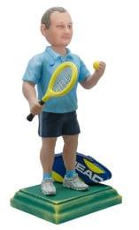 Подарок теннисисту «Точный удар» 30 см. - фото 1