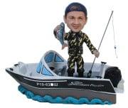 Подарок рыбаку «На яхте» 20см. - фото 1