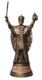 Скульптура  «Николай Чудотворец» 30см. - фото 1