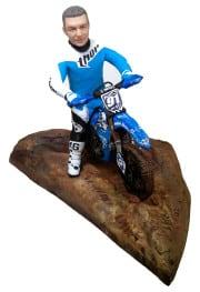 Подарок мотоциклисту «Мотокросс» 30см. - фото 1