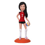 Подарок спортсменке по фото «Звезда волейбола» 20см. - фото 1