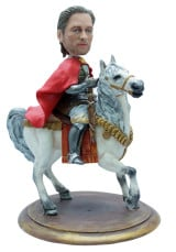 Подарок «Принц на белом коне» 25см. - фото 1