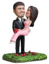 Подарок паре «Жизнь в розовом цвете» 20см - фото 1