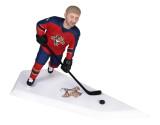 Подарок хоккеисту «Точный удар» 30см. - фото 1