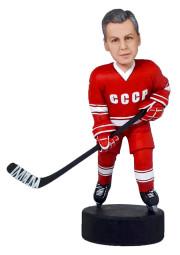 Подарок хоккеисту «Рожденный в СССР» 20см. - фото 1