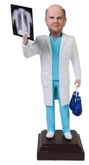 Подарок врачу-хирургу «Рентгеновский снимок» 25см. - фото 1