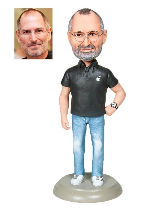 """Рекламный сувенир Статуэтка """"Стив Джобс"""" от 3 900 руб"""