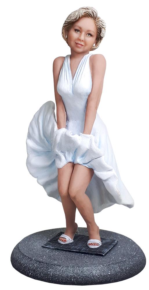"""Статуэтка по фото """"Прелестная Мэрилин Монро"""", 30 см. от 26 800 руб"""
