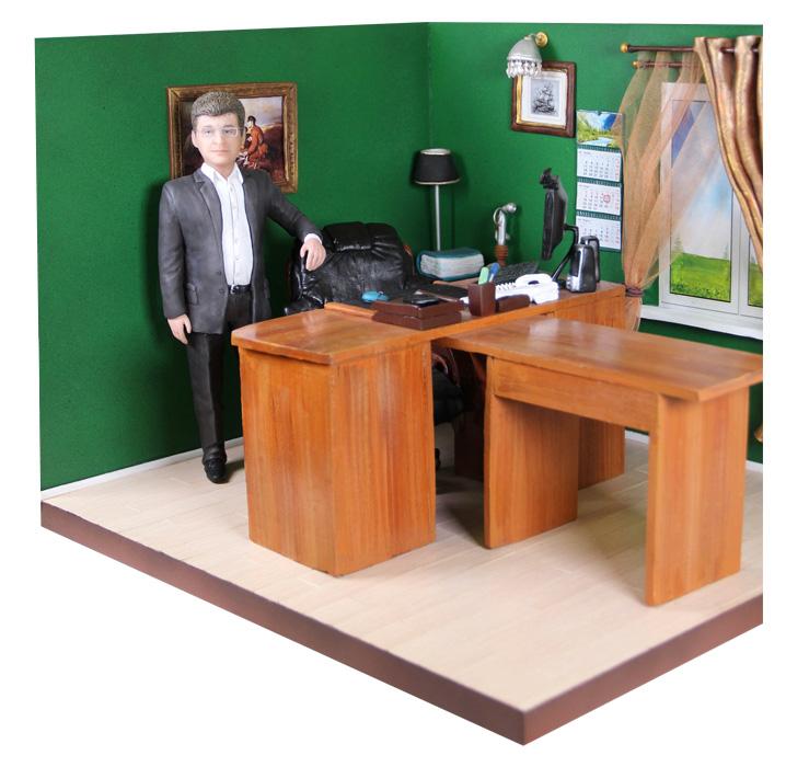 """Мини- кабинет """"На рабочем месте"""", 20 см от 51 900 руб"""
