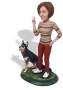 Подарок девушке «С любимой собакой» 20см. - фото 4