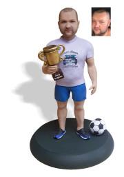 Подарок парню «Заслуженный чемпион» 20см. - фото 1