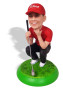 Подарок гольфисту «Точно в лунку» 25см. - фото 4