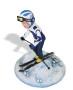 «Подарок лыжнику «Скоростной спуск» 20см. - фото 3