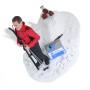 Подарок лыжнику «Покоренная вершина» 30см. - фото 5
